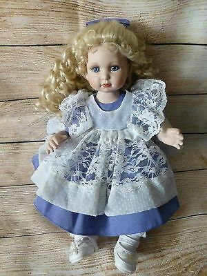 """MARIE OSMOND Fine Porcelain Collector Dolls """"Quite A Pair"""" (no box or bear)"""
