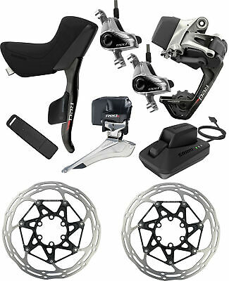 SRAM RED eTap 2x11 HRD Groupset Upgrade Kit Post Mount Short