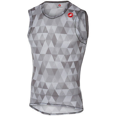 Castelli Pro Mesh Sleeveless Base Layer Multicolour Grey 2018