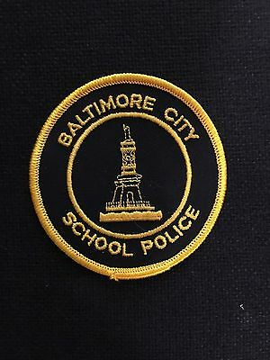 Baltimore  City  Maryland  School  Police  Shoulder Patch