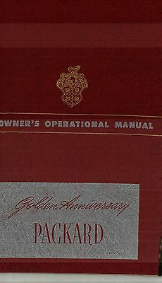 1949 Packard Owner's Operational Manual - Golden Anniversary - Nos New Old Stock