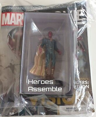 Marvel Movie Collection #34 The Vision Figurine Eaglemoss (32 33) New