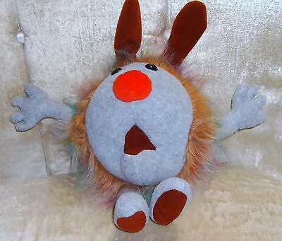 1995 Vintage The Big Comfy Couch Plush Dust Bunny