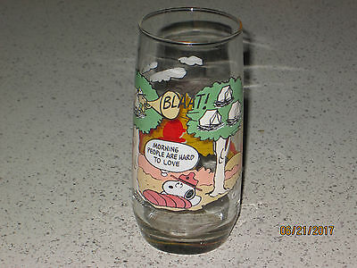 SNOOPY and friends Tumbler 1965 McDonald's Production