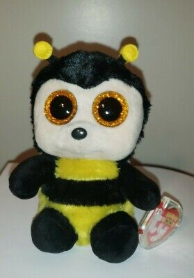 TY BEANIE BOOS ~ BUZBY the Bumble Bee (6 Inch) NEW MWMT -  5.90 ... 50d05413784