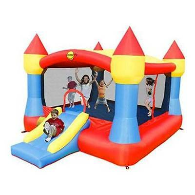Super Jumping Castle with slide and detachable cover 9217N
