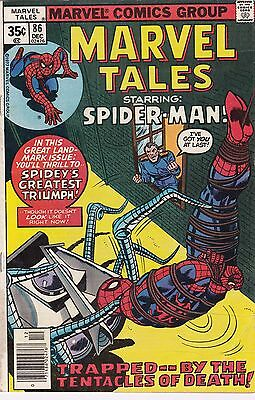 1977 Marvel Tales Comic Book #86 Featuring The Amazing Spider-Man
