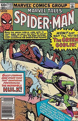 1983 Marvel Tales Comic Book #152 Featuring The Amazing Spider-Man