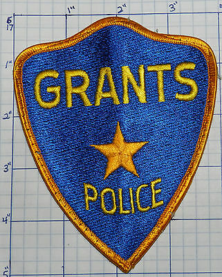 New Mexico, Grants Police Star Blue Patch