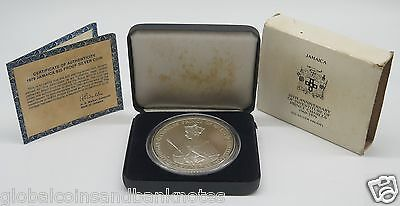 Jamaica - 1979 10th Anniv Of Investuture Of Prince Charles $25 Silver Proof Coin
