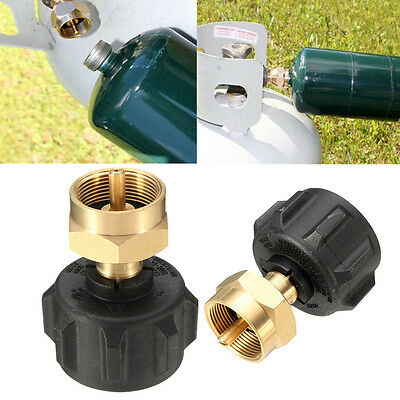 1LB Tank Gas Propane QCC1 Regulator Valve Refill Adapter For Outdoor Cooking BBQ