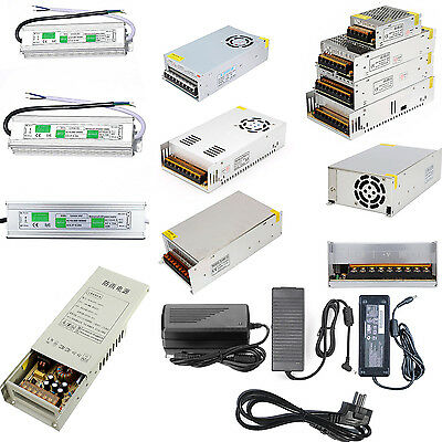 AC 110-220V TO DC 5V 12V 24V 2A/10A/15A/30A/40A/60A Power Supply Adapter for LED