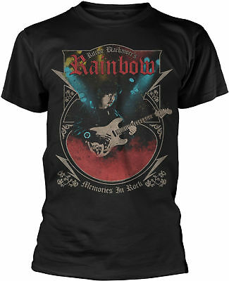 RITCHIE BLACKMORE'S RAINBOW Memories In Rock Rising Tour 2017 T-SHIRT OFFICIAL