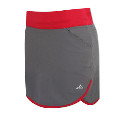 Adidas Ladies Competition Skort with UPF50+ in Trace Grey