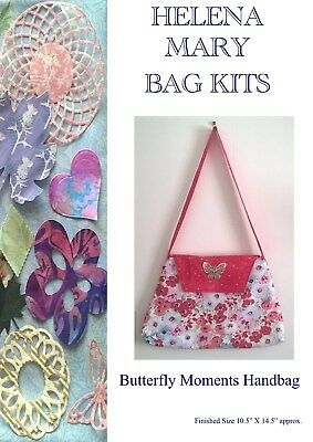 Helena Mary Bag Making Kit Complete Kit - Butterfly Moments Handbag