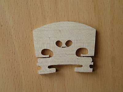 4/4 Maple Crafted Violin Bridge Cheapest UK Stock On Ebay