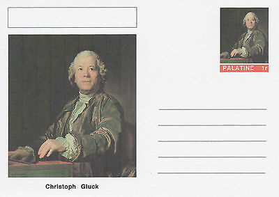 CINDERELLA - 4563 - Christoph GLUCK  on Fantasy Postal Stationery card
