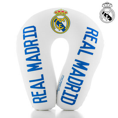 V2100126 Cuscino Cervicale Antistress Del Real Madrid Cf