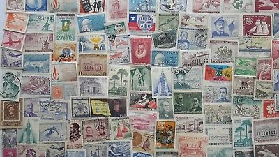 300 Different Chile Stamp Collection - Pictorials only
