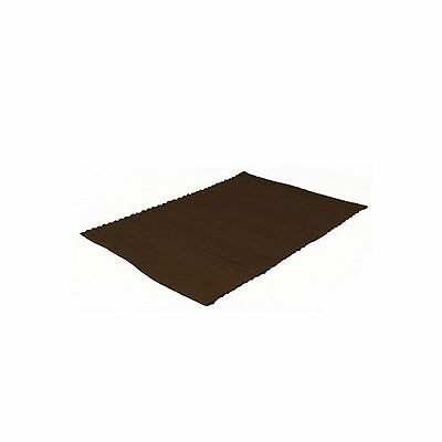 Sabichi Wide Rib Placemat - Chocolate. LAST ONE - WAS €4.50 - NOW €2.95