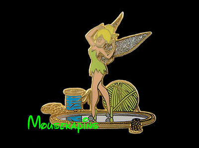 Peter Pan TINKER BELL on the Dresser MIRROR Disney WDW 2000 TinkerBell Pin