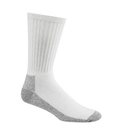 Wigwam At Work Mens Heavy Duty 86% Cotton Crew Socks 3 Pack