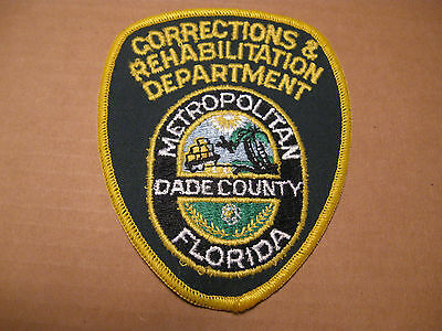 Florida Dept Of Correction & Rehabilitation Police Patch