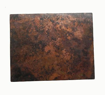 """Mexican Copper Kitchen Backsplash  Wall Art Stained 16"""" X 20"""""""