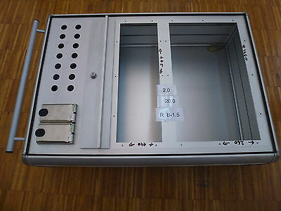 Control Box L / B/T 800/580/230mm Aluminium Housing for Operating Terminal/