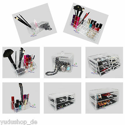 Acrylic Cosmetics Storage Box Order Box Sorting Box Compartments Drawer