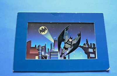 "Batman 2005 CLAMPETT STUDIO ""Batman: The Animated Series"" Litho Cel DC Comics"