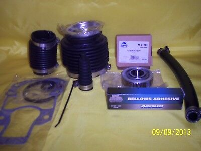 Alpha 1 Generation Gen 2 Bellows transom repair kit  a/m with hd bearing Quality