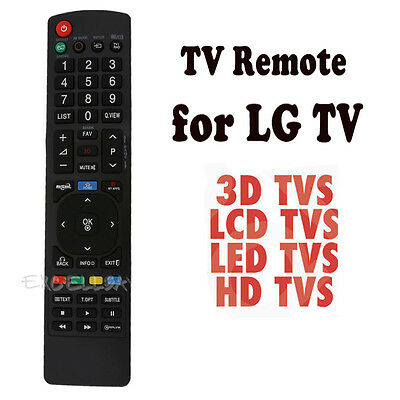SMART TV Remote Control Replacement for LG Smart 3D LED LCD HDTV TV