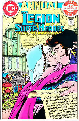 Legion of Super Heroes Annual #2 - 1983
