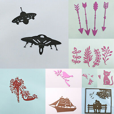 DIY Metal Cutting Dies Stencil Scrapbook Card Album Paper Embossing Craft UKD