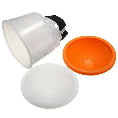 Universal Lambency Cloud Flash Speedlight Diffuser Reflector Dome Cover Softbox