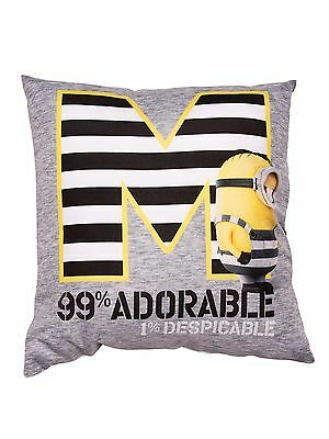 Despicable Me Minions Jailbird Canvas Square Cushion, Polyester Double Sided