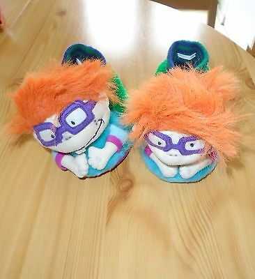 Rare Childs Nickelodeon Vintage Rugrats Slippers.nwot