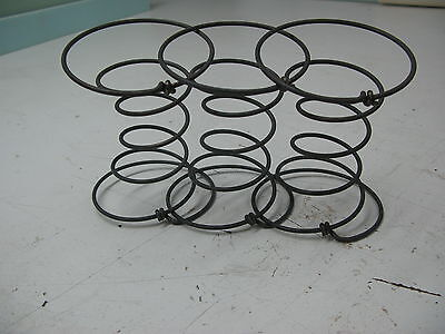 """3 UPHOLSTERY 6"""" COIL SPRINGS 9 GAUGE SEAT SETTEE CHAIR ACCESSORIES r"""