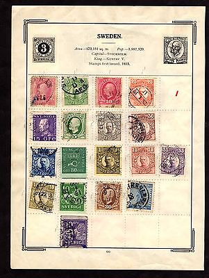 Stamps ~ SWEDEN & SPAIN ~ Early