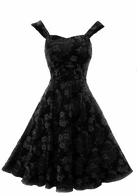 New H&R Victorian Retro Corset style Gothic Revival Burlesque Party Dress