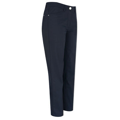 Green Lamb Windproof Trouser with Straight Fit in Navy