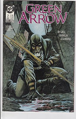 Green Arrow #2 NM- 9.2 1988 DC See My Store