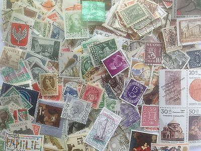 5000 Different Europe Stamp Collection