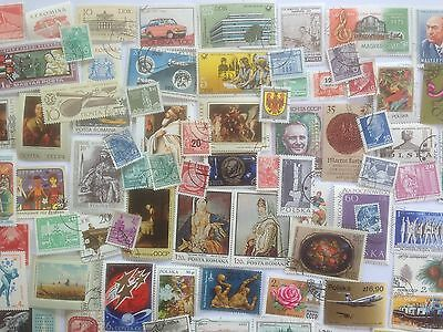 1000 Different East Europe Stamp Collection