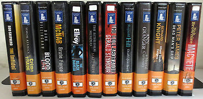 *Huge Lot* Playaway Audio Books: Shepherd Kernick McNab Ellroy Hill James Knight