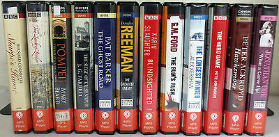 *Huge Lot* Playaway Audio Books: Cornwell Ackroyd Beard Barker Reeman Ford Coe