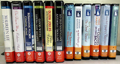 *Huge Lot* Playaway Audio Books: Lee Alliott Pilcher Koomson Grant Bell Torday