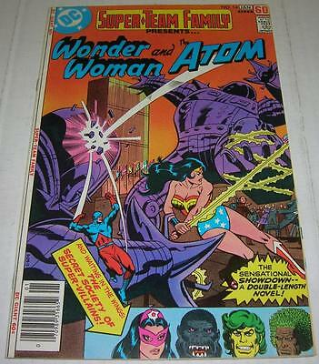 SUPER-TEAM FAMILY #14 (DC Comics 1977) WONDER WOMAN & ATOM (FN/VF)