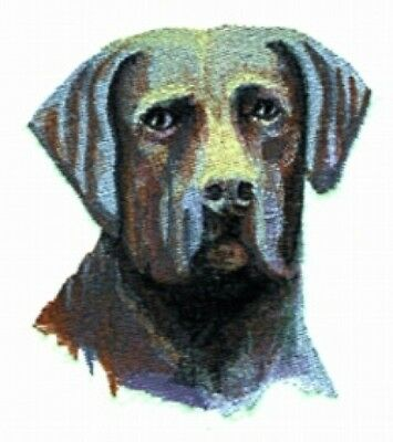 Large Embroidered Zippered Tote - Chesapeake Bay Retriever BT2289